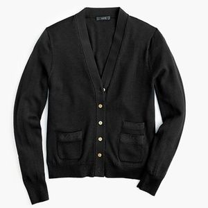 J.Crew Harlow cardigan sweater black size S